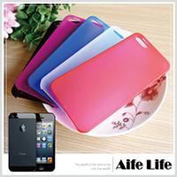 【aife life】iphone5 磨砂果凍保護殼/螢幕殼超薄殼糖果殼保護套保護殼