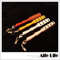 【aife life】迷你攜帶型24鍺粒滾輪美容棒/外銷日本款美顏棒吊飾按摩頸部臉部穴道穴位按摩