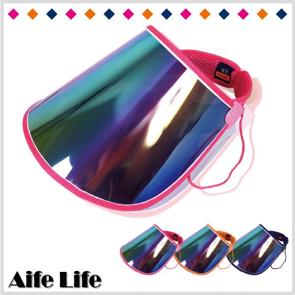 【aife life】防曬遮陽帽/可移動調整防曬抗UV紫外線空心帽高爾夫球帽