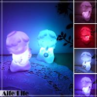 【aife life】音樂小天使七彩LED燈-大/七彩燈 小夜燈 造型燈 婚禮佈置LED燈