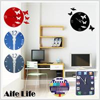 【aife life】DIY壓克力掛鐘/時鐘/造型鐘/壁鐘/靜音鐘/方形鐘圓形鐘/iphone造型鐘/客製化印製
