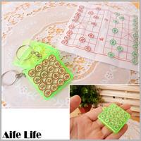 【aife life】迷你象棋鑰匙圈/世界最小的象棋 象棋鑰匙圈 超迷你象棋,真的可以下喔~