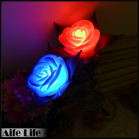 【aife life】玫瑰花燈/玫瑰造型燈 LED氣氛燈 永不凋謝玫瑰花燈 浪漫氣氛再加分 禮品贈品