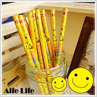 【aife life】卡通笑臉鉛筆/微笑鉛筆 禮品鉛筆 廣告筆 禮贈品