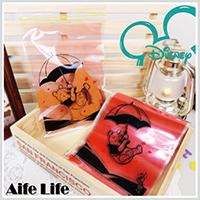 【aife life】MIT迪士尼卡通夾鏈袋-中(8入14*22cm)/糖果袋/收納袋/包裝袋/禮物袋/飾品包裝/台灣製造