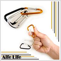 【aife life】登山扣環/快扣/外掛/鑰匙圈/DIY鑰匙圈/登山環