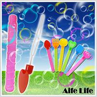 【aife life】造型泡泡棒-6入/迷你泡泡棒/泡泡揮舞棒/手揮泡泡/手動泡泡棒/沙灘道具