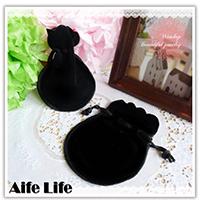 【aife life】圓形絨布套/高級絨布套/絨布袋/飾品袋/束口袋/珠寶袋/首飾袋/收納袋