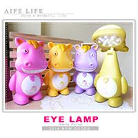 【aife life】16LED燈微笑馬檯燈/USB充電式檯燈/LED桌燈夜燈/環保節能燈/動物造型燈/露營燈