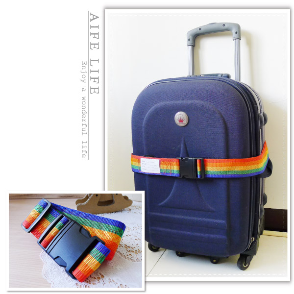 【aife life】行李固定帶-無密碼/可調式行李帶/旅行箱束帶/登機箱束箱帶/行李帶/打包帶