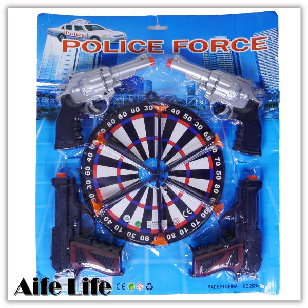 【aife life】手槍標靶/吸盤飛鏢組/玩具手槍/靶標/打靶射擊/有四把手槍唷