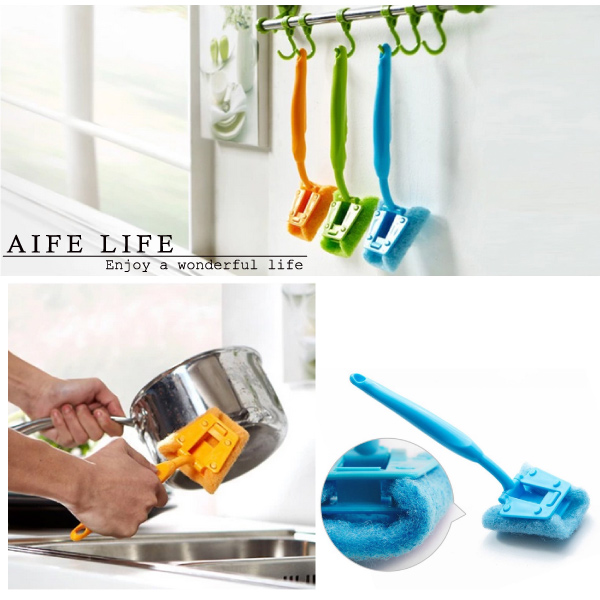 【aife life】廚房清潔刷/長柄刷/洗鍋刷/洗碗刷/菜瓜布/絲瓜布/浴室清潔刷