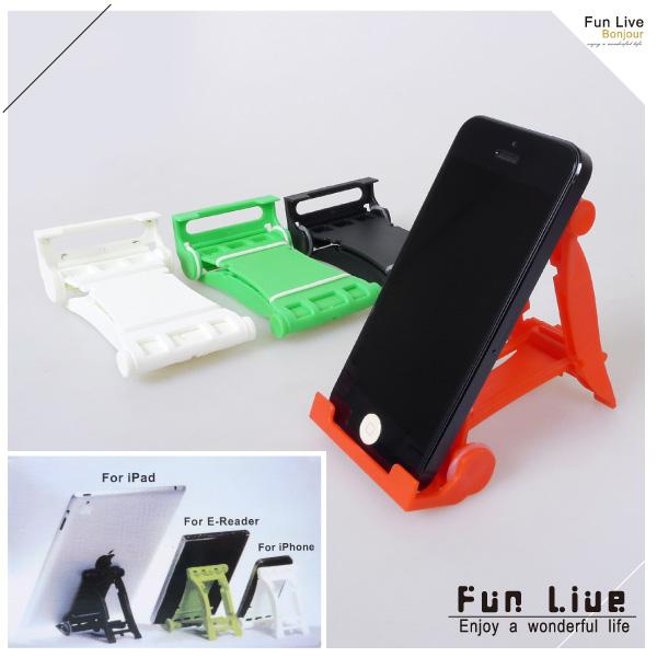 【aife life】賽車造型手機平板支架/手機支撐架/折疊式手機座/多功能手機架/平板電腦/ipad iphone