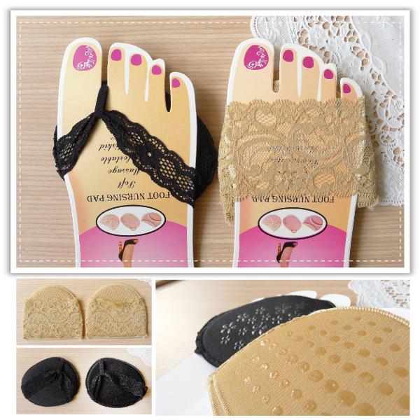【aife life】風靡日韓超贊蕾絲花邊隱形襪子、防滑鞋墊、拖鞋露趾襪超sexy,讓你穿高跟鞋腳不會痛!!