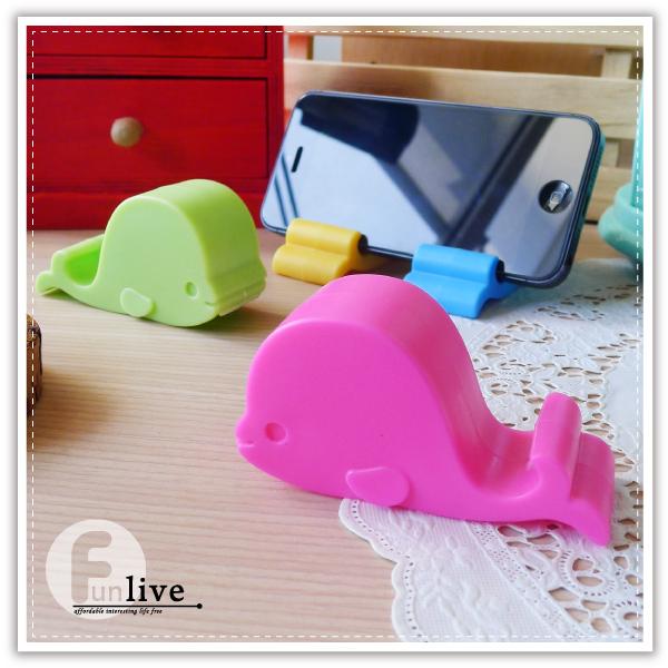 【aife life】鯨魚手機支撐架/固定座/手機座/手機支架/手機支撐架/名片架/名片座