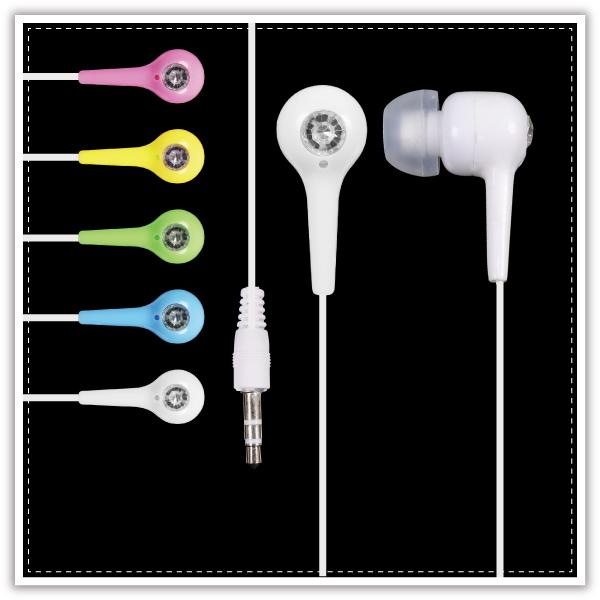 【aife life】鑽石入耳式耳塞耳機/彩色耳機/耳塞式耳機/音響喇叭/入耳式耳機/禮品贈品