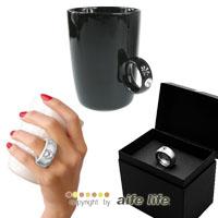 【AIFE LIFE】鑽石杯/戒指馬克杯/鑽戒杯/求婚訂婚婚禮贈禮品/情人節禮物/伴手禮,高質感陶瓷馬克杯!
