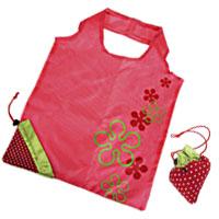 【aife life】小草莓摺疊創意購物袋/直立式環保袋/手提袋,輕鬆帶著走