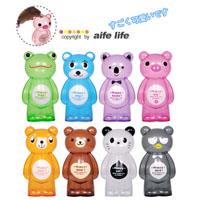 【aife life】無尾熊、粉紅豬、大青蛙、熬夜貓頭鷹、團團熊貓多種動物造型~透明存錢筒~