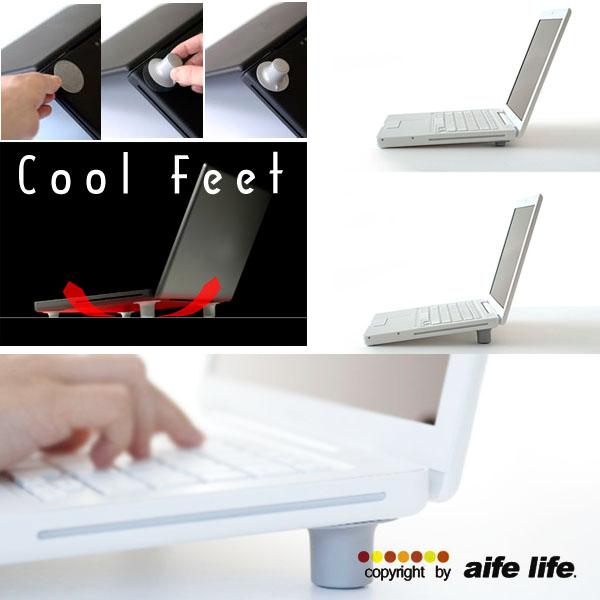 【aife life】一組四入,筆記型電腦散熱墊,筆電散熱墊、散熱座、墊高增加空氣對流,減少手腕負擔喔