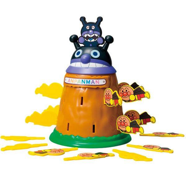 日本直送 Pinocchio 麵包超人 兒童玩具 趣味遊戲 細菌人 海盜桶
