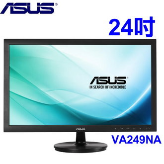 華碩  VA249NA 24型 IPS黑色 超值機型寬螢幕