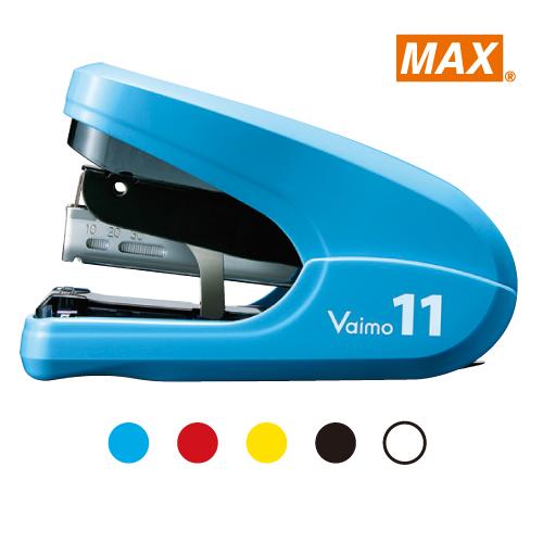 【MAX 美克司】 HD-11FLK 藍 平針釘書機 (11號針)