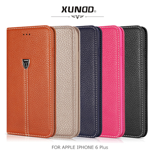XUNDD 訊迪 貴族系列真皮可立皮套 5.5吋 APPLE IPHONE 6/6S Plus I6+ IP6+ 保護套 手機套 手機殼 保護殼/TIS購物館
