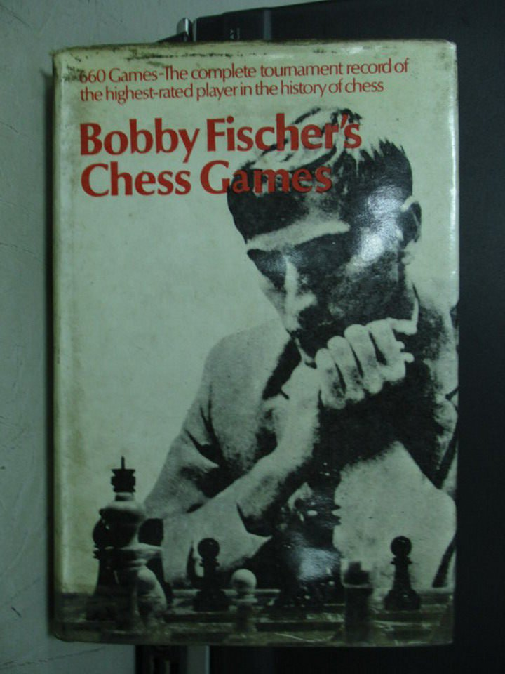 【書寶二手書T5/嗜好_LBJ】Bobby Fischer's Chess Gannes_民61