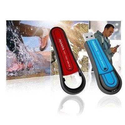 *╯新風尚潮流╭*威剛 64G S107 防水抗震隨身碟 USB3.0 環繞式筆蓋可後塞設計 AS107-64G