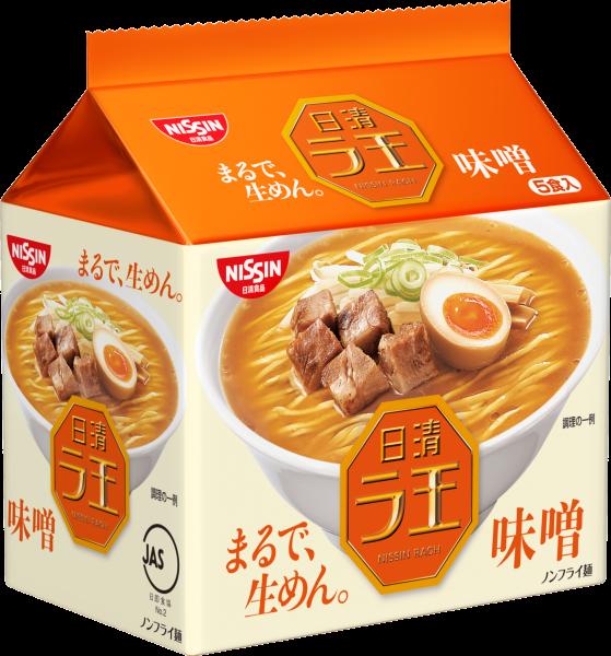 【Nissin日清】拉王拉麵5包入-味噌 102gX5入