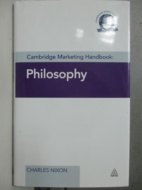 【書寶二手書T1/原文書_HOC】Cambridge Marketing Handbook_Charles Nixon, Charles Nixon