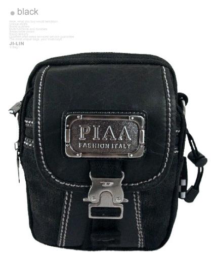 01-8017【PIAA 皮亞】水洗帆布日雜推薦款2way側背/腰包