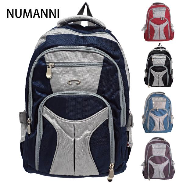 【NUMANNI】自然款大容量尼龍後背包 (五色)