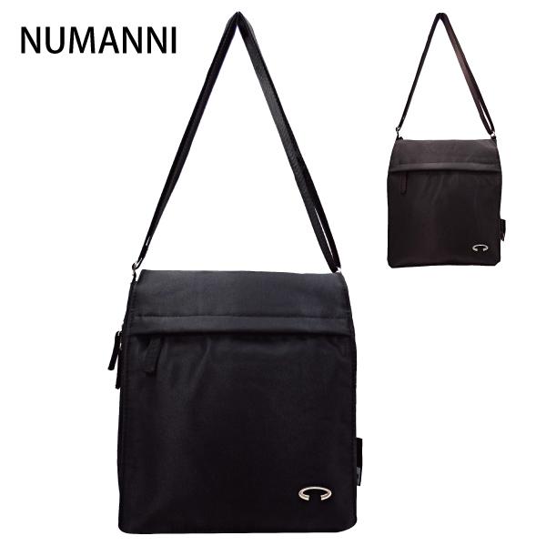 25-7802【NUMANNI 奴曼尼】超實用多功能底部可擴大尼龍斜背包 (二色)