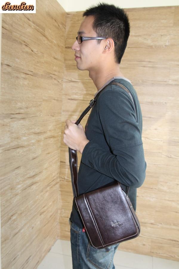 【dundun】〈小款〉實用型掀蓋式側背包 (三色)
