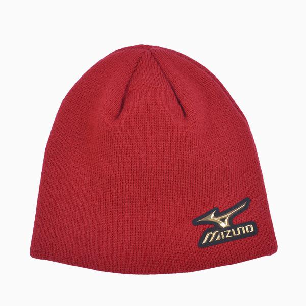 日本同步限量MIZUNO PRO 針織帽  12JW5B0162 (紅)【美津濃MIZUNO】