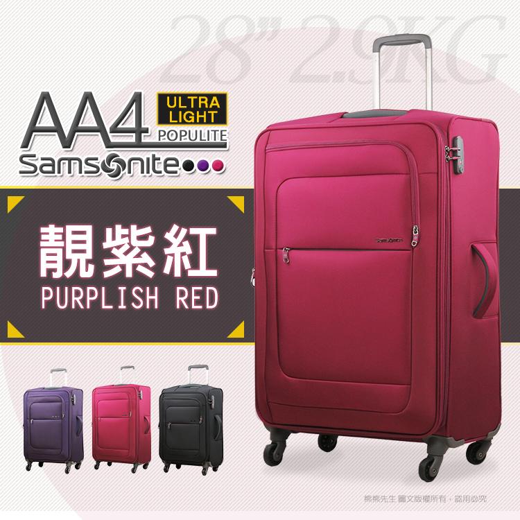 《熊熊先生》新秀麗Samsonite行李箱 20吋AA4登機箱