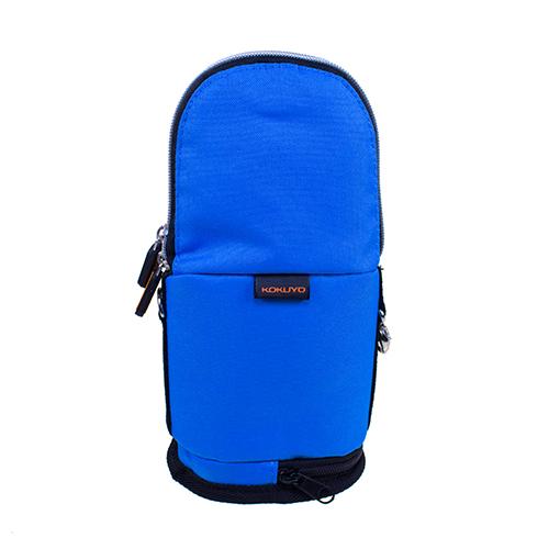 【KOKUYO】  critz多功能直立式筆袋-大(藍色) PC009-B