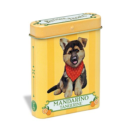 【PASTIGLIE LEONE里歐雷糖果】2016新款可愛寵物系列★柑橘德國狼犬★