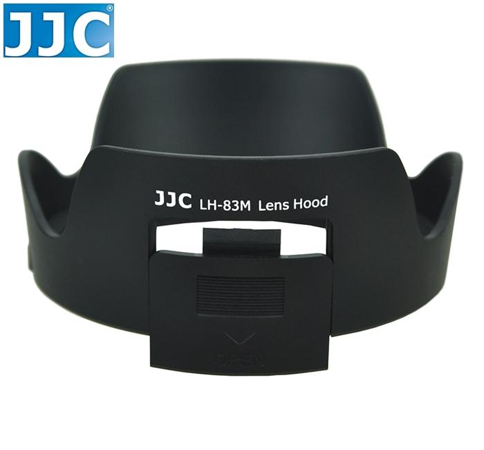 又敗家@JJC副廠Canon遮光罩EW-83M遮光罩適EF 24-105mm F3.5-5.6 F/3.5-5.6 IS STM  24-105mm F4L F/4 F4 L IS II USM可倒扣反裝副廠遮光罩,相容佳能Canon原廠遮光罩的Canon副廠遮光罩EW83M遮光罩EW-83M太陽罩EW-83M太陽罩遮陽罩遮罩lens hood f/3.5-5.6