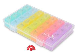 【銀元氣屋】便攜式七日彩虹藥盒