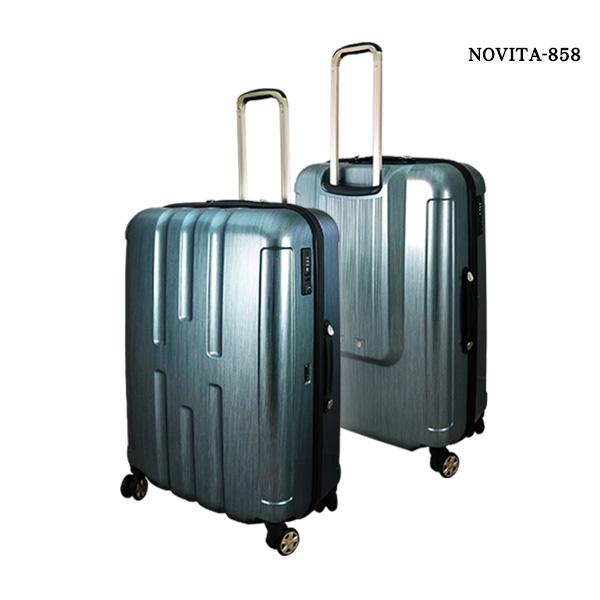 【加賀皮件】 台灣製造 NOVITA 雲彩拉絲紋 旅行箱/行李箱 29吋 多色任選 【NVT858】