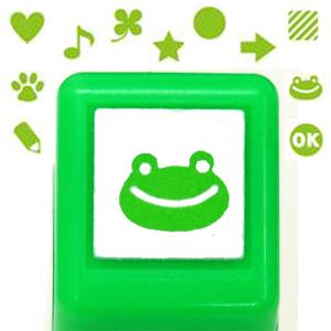 Kodomo 螢光手帳小印章系列 - 螢光綠(圖案入內挑選)