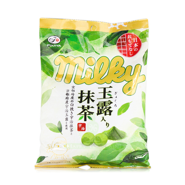 日本進口 不二家玉露抹茶牛奶糖 85g