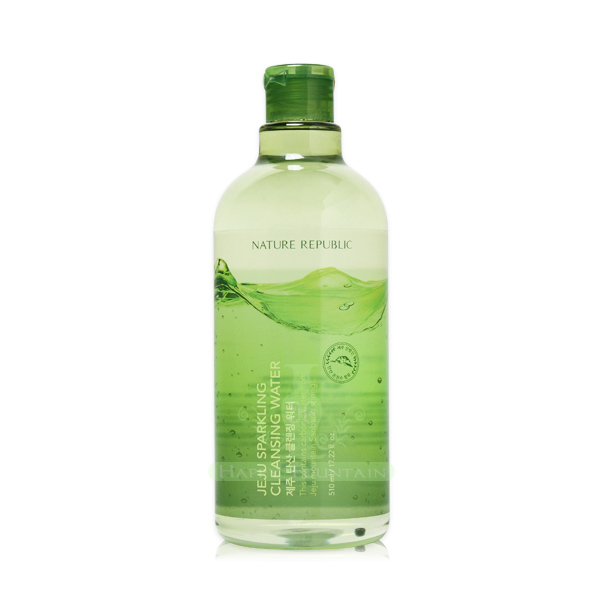 Nature Republic 濟州島碳酸H2O卸妝水 附贈按壓空瓶