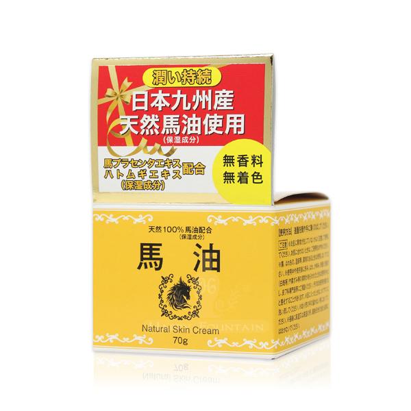 日本九州 精純馬油乳霜 70g