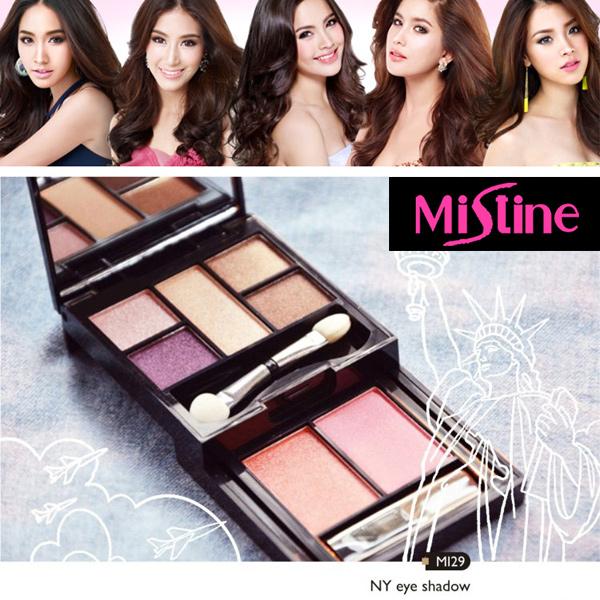 泰國 Mistine 時尚紐約七色眼影盤 9.9g