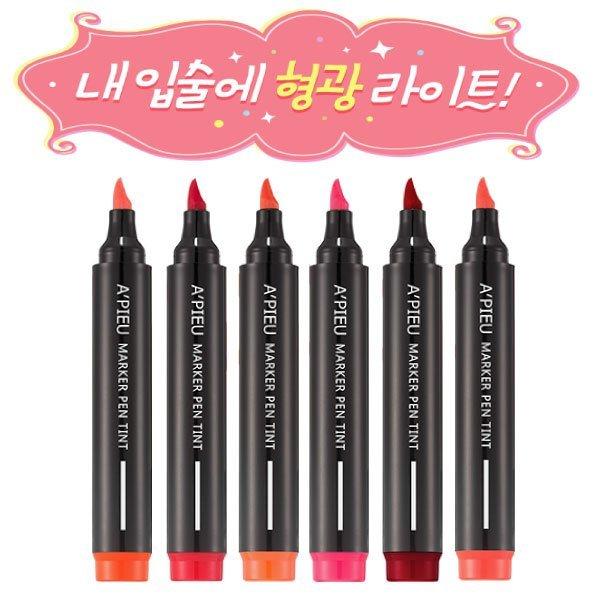 韓國 Apieu 超密合唇部馬克筆 4.5g