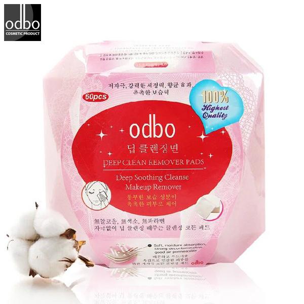 泰國 odbo 卸妝巾 60抽 卸妝濕巾二合一/懶人必備/卸妝神器